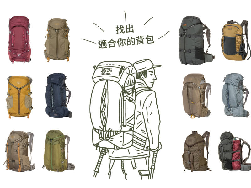 CHOOSE YOUR BACKPACK