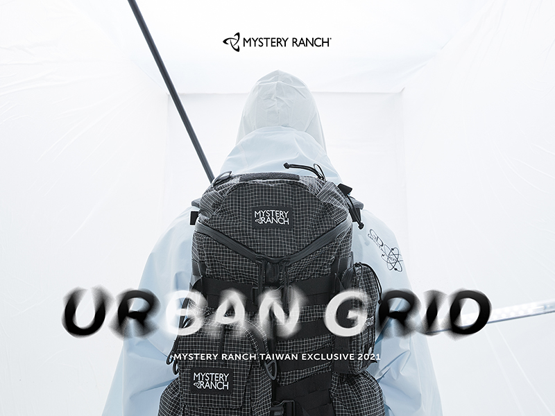 """MYSTERY RANCH TAIWAN EXCLUSIVE  2021 """"URBAN GRID"""" SERIES"""